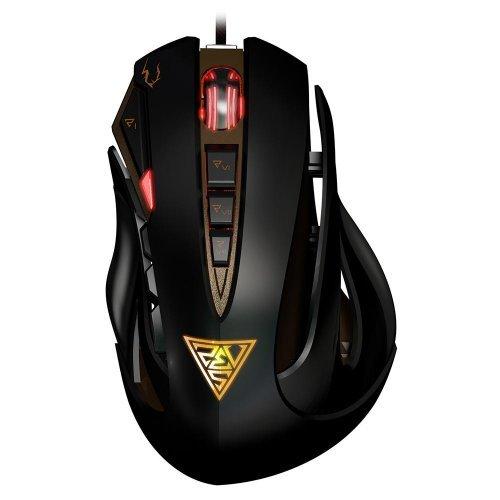 Мишка Gamdias Zeus Laser Gaming Mouse, GMS1100, 8200dpi, Selectable polling rate 125Hz to 1000Hz, 512KB onboard memory (снимка 1)