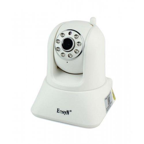 EasyN H3-187, IP WIFI 1mpix 720P 187-with Pan/Tilt micro Sd card (снимка 1)