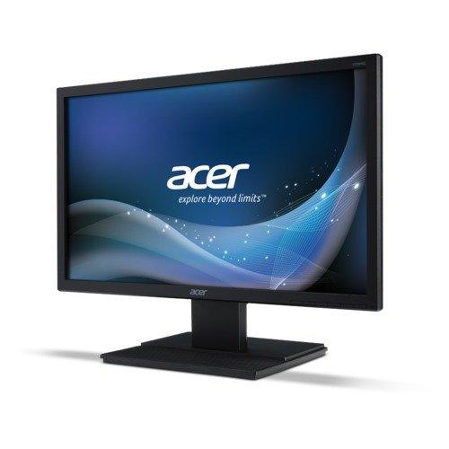 """Монитор Acer 21.5"""" Wide V226HQLBbd - UM.WV6EE.B04, LED, 16:9, 1920х1080, Full HD, 100M:1, 200 cd/m2, 5 ms, 170°/160°, D-Sub, DVI, Energy Star 6.0 (снимка 1)"""