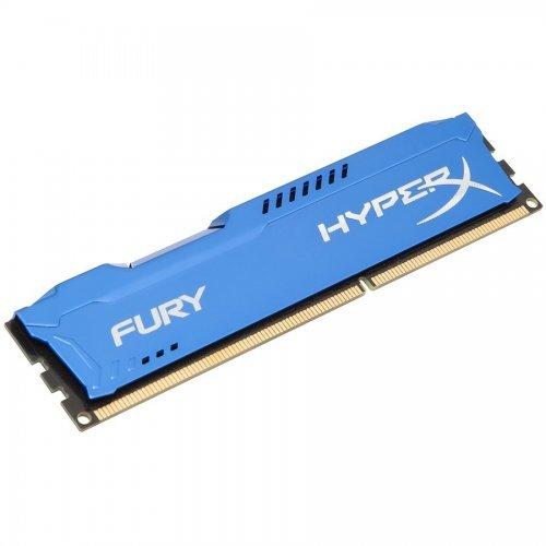 Памет DDR3 8GB 1600MHz CL10 Hyper X Fury Blue Kingston (снимка 1)