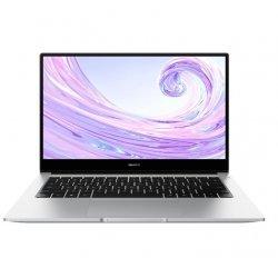 "Huawei MateBook D14, сребрист, 14.0"" (35.56см.) 1920x1080 (Full HD) без отблясъци 60Hz IPS, Процесор AMD Ryzen 7 3700U (4x/8x), Видео AMD Radeon RX Vega 10, 8GB DDR4 RAM, 512GB SSD диск, без опт. у-во, Windows 10 64 ОС (Лаптопи)"