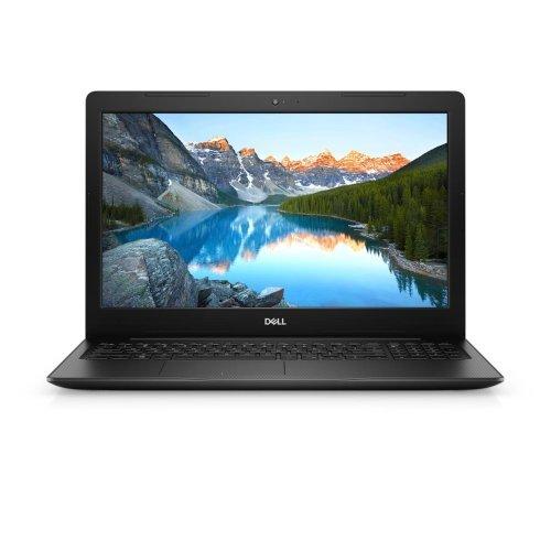 """Лаптоп Dell Inspiron 3593, черен, 15.6"""" (39.62см.) 1920x1080 (Full HD) без отблясъци, Процесор Intel Core i5-1035G1 (4x/8x), Видео nVidia GeForce MX230, 4GB DDR4 RAM, 1TB HDD диск, без опт. у-во, Linux Ubuntu 18.04 ОС, Клавиатура- с БДС (снимка 1)"""
