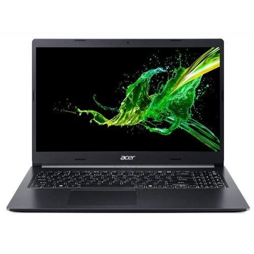 """Лаптоп Acer Aspire 5 A515-54G-57E6, черен, 15.6"""" (39.62см.) 1920x1080 (Full HD) без отблясъци 60Hz IPS, Процесор Intel Core i5-10210U (4x/8x), Видео nVidia GeForce MX350/ 2GB GDDR5, 8GB DDR4 RAM, 512GB SSD диск, без опт. у-во, Linux ОС, Клавиатура- с БДС (снимка 1)"""