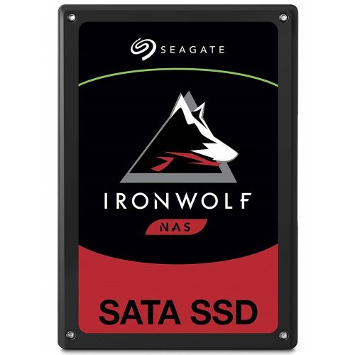 "SSD Seagate 480GB IronWolf (2.5"", SATA) (снимка 1)"
