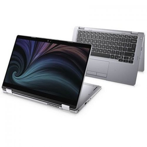 "Лаптоп-таблет Dell Laptop-Tablet Latitude 13 5310, 2 в 1, сив, 13.3"" (33.78см.) 1920x1080 (Full HD) без отблясъци 60Hz WVA тъч, Процесор Intel Core i5-10310U (4x/8x), Видео Intel UHD, 8GB DDR4 RAM, 256GB SSD диск, без опт. у-во, Windows 10 Pro 64 ОС, Клавиатура- светеща (снимка 1)"