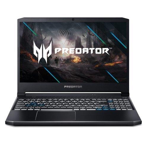 "Лаптоп Acer Predator Helios 300 PH315-53-78M8, черен, 15.6"" (39.62см.) 1920x1080 (Full HD) без отблясъци 144Hz IPS, Процесор Intel Core i7-10750H (6x/12x), Видео nVidia GeForce RTX 2060/ 6GB GDDR6, 8GB DDR4 RAM, 512GB SSD диск, без опт. у-во, Windows 10 64 ОС, Клавиатура- светеща с БДС (снимка 1)"