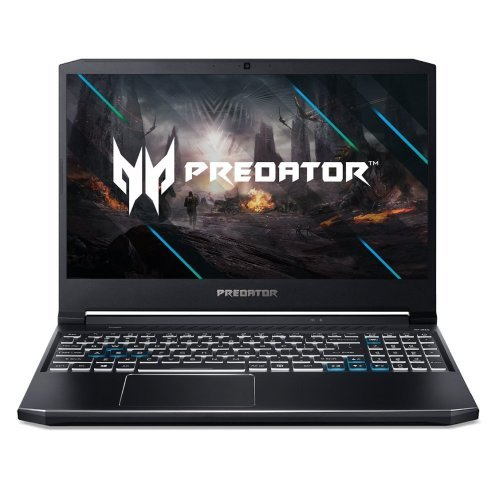 "Лаптоп Acer Predator Helios 300 PH315-53-76DG, черен, 15.6"" (39.62см.) 1920x1080 (Full HD) без отблясъци 144Hz IPS, Процесор Intel Core i7-10750H (6x/12x), Видео nVidia GeForce RTX 2070/ 8GB GDDR6, 16GB DDR4 RAM, 1TB SSD диск, без опт. у-во, Windows 10 ОС, Клавиатура- светеща с БДС (снимка 1)"