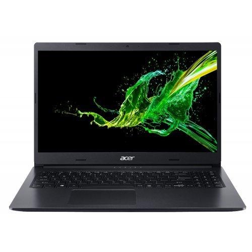 """Лаптоп Acer Aspire 3 A315-55G-38T8, черен, 15.6"""" (39.62см.) 1920x1080 (Full HD) IPS, Процесор Intel Core i3-10110U (2x/4x), Видео nVidia GeForce MX230/ 2GB GDDR5, 8GB DDR4 RAM, 256GB SSD диск, без опт. у-во, Linux ОС (снимка 1)"""
