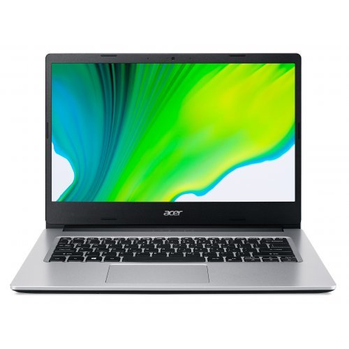 "Лаптоп Acer Aspire 3 A314-22-R870, сребрист, 14.0"" (35.56см.) 1920x1080 (Full HD) без отблясъци, Процесор AMD Ryzen 3 3250U (2x/4x), Видео AMD Radeon- 3 cores, 8GB DDR4 RAM, 256GB SSD диск, без опт. у-во, без ОС (снимка 1)"