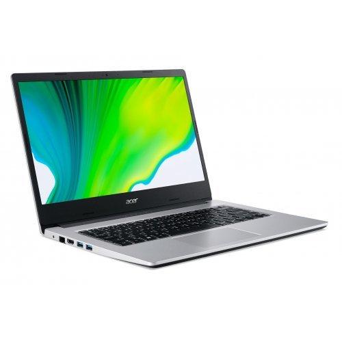 "Лаптоп Acer Aspire 3 A314-22-R8Z9, сребрист, 14.0"" (35.56см.) 1920x1080 (Full HD) без отблясъци, Процесор AMD Ryzen 5 3500U (4x/8x), Видео AMD Radeon Graphics, 8GB DDR4 RAM, 256GB SSD диск, без опт. у-во, без ОС (снимка 1)"