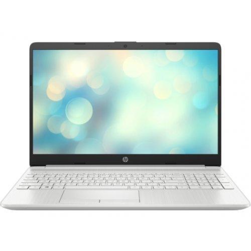 "Лаптоп HP 15-dw2003nu, сребрист, 15.6"" (39.62см.) 1920x1080 (Full HD) без отблясъци IPS, Процесор Intel Core i3-1005G1 (2x/4x), Видео Intel UHD, 8GB DDR4 RAM, 512GB SSD диск, без опт. у-во, FreeDOS ОС (снимка 1)"