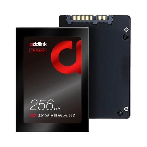 SSD Addlink 256GB S20 - SATA3 3D Nand 510/400 MB/s (снимка 1)