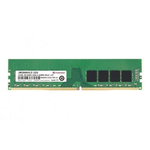 RAM памет DDR4 PC 32GB 2666Mhz, Transcend, JM, U-DIMM, 2Rx8, 2Gx8, CL19, 1.2V (снимка 1)