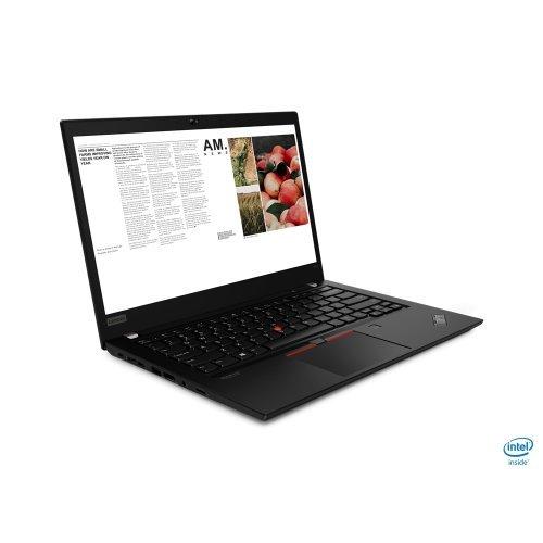 "Лаптоп Lenovo ThinkPad T14, черен, 14.0"" (35.56см.) 1920x1080 (Full HD) без отблясъци IPS, Процесор AMD Ryzen 5 Pro 4650U (6x/12x), Видео AMD Radeon Graphics, 8GB DDR4 RAM, 512GB SSD диск, без опт. у-во, Windows 10 Pro 64 ОС, Клавиатура- с БДС (снимка 1)"