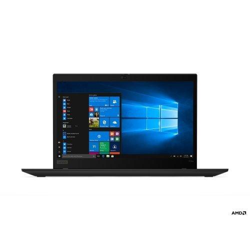 "Лаптоп Lenovo ThinkPad T14s, черен, 14.0"" (35.56см.) 1920x1080 (Full HD) без отблясъци IPS, Процесор AMD Ryzen 5 Pro 4650U (6x/12x), Видео AMD Radeon Graphics, 8GB DDR4 RAM, 256GB SSD диск, без опт. у-во, Windows 10 Pro 64 ОС, Клавиатура- с БДС (снимка 1)"