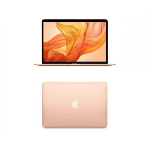 """Лаптоп Apple MacBook Air, златист, 13.3"""" (33.78см.) 2560x1600 (WQXGA) лъскав 60Hz, Процесор Intel Core i3-1000NG4 (2x/4x), Видео Intel Iris Plus Gen 11, 8GB LPDDR4X RAM, 256GB SSD диск, без опт. у-во, MacOS X Sierra ОС, Клавиатура- светеща с БДС (снимка 1)"""