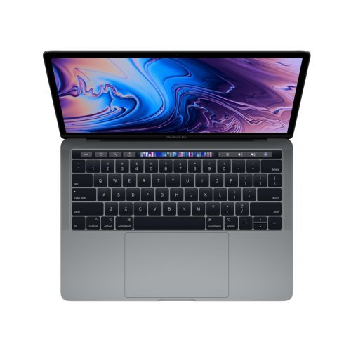"Лаптоп Apple MacBook Pro 13 , сив, 13.0"" (33.02см.) 2560x1600 (WQXGA) 60Hz IPS, Процесор Intel Core i5-1038NG7 (4x/8x), Видео Intel Iris Plus Gen 11, 16GB LPDDR4X RAM, 512GB SSD диск, без опт. у-во, MacOS X Sierra ОС, Клавиатура- светеща (снимка 1)"