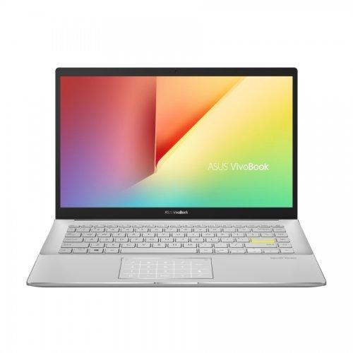 "Лаптоп Asus Vivobook S14 S433JQ-WB514T, черен, 14.0"" (35.56см.) 1920x1080 (Full HD) без отблясъци 60Hz, Процесор Intel Core i5-1035G1 (4x/8x), Видео nVidia GeForce MX350/ 2GB GDDR5, 8GB DDR4 RAM, 512GB SSD диск, без опт. у-во, Windows 10 64 ОС, Клавиатура- светеща (снимка 1)"