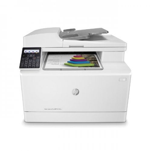Принтер HP Color LaserJet Pro MFP M183fw (снимка 1)