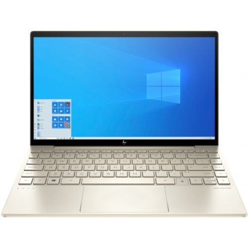 "Лаптоп HP ENVY, бял, 13.3"" (33.78см.) 1920x1080 (Full HD) IPS, Процесор Intel Core i5-1035G1 (4x/8x), Видео Intel UHD, 8GB DDR4 RAM, 512GB SSD диск, без опт. у-во, Windows 10 64 ОС (снимка 1)"