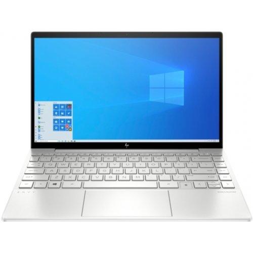 """Лаптоп HP Envy 13-ba0004nu, сребрист, 13.3"""" (33.78см.) 1920x1080 (Full HD) IPS, Процесор Intel Core i7-10510U (4x/8x), Видео nVidia GeForce MX350/ 2GB GDDR5, 16GB DDR4 RAM, 1TB SSD диск, без опт. у-во, Windows 10 64 ОС (снимка 1)"""
