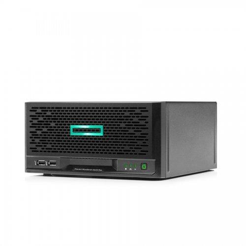 Сървър HPE ProLiant MicroServer Gen10 Plus, E-2224, S100i, 4LFF-NHP, 180W External PS (снимка 1)
