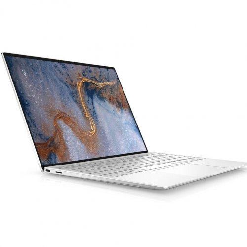 "Лаптоп Dell XPS 13 9300, сребрист, 13.4"" (34.04см.) 1920x1200 (WUXGA) без отблясъци 60Hz тъч, Процесор Intel Core i7-1065G7 (4x/8x), Видео Intel Iris Plus, 16GB LPDDR4X RAM, 1TB SSD диск, без опт. у-во, Linux Ubuntu ОС, Клавиатура- светеща (снимка 1)"