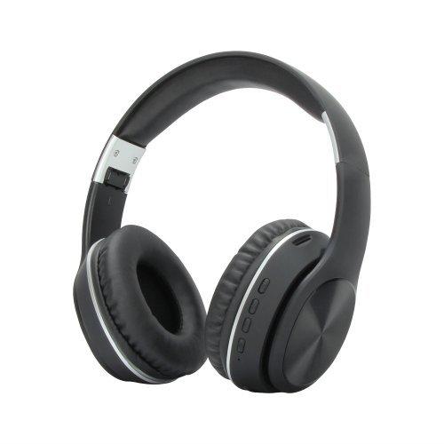 Безжични Bluetooth слушалки VCom  M280, Bluetooth v4.1 Headphones/ 3.5mm jack/ микрофон, FM radio, microSD (до 32GB), MP3 player, micro USB power in slot, 4 бутона, черен (снимка 1)