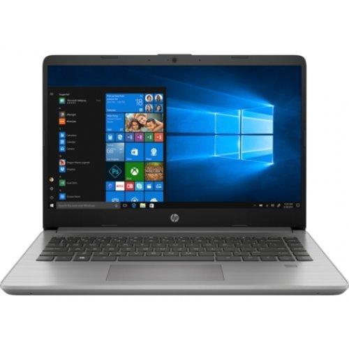 "Лаптоп HP 340S G7, сребрист, 14.0"" (35.56см.) 1920x1080 (Full HD) без отблясъци IPS, Процесор Intel Core i5-1035G1 (4x/8x), Видео Intel UHD, 8GB DDR4 RAM, 256GB SSD диск, без опт. у-во, FreeDOS ОС (снимка 1)"