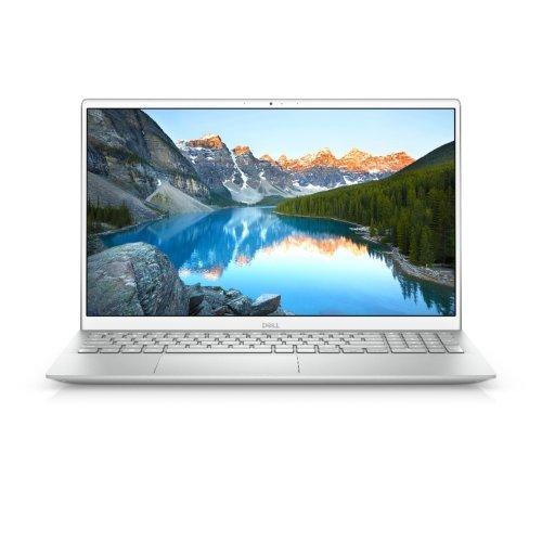 """Лаптоп Dell Inspiron 15 5501, сребрист, 15.6"""" (39.62см.) 1920x1080 (Full HD) без отблясъци 60Hz, Процесор Intel Core i5-1035G1 (4x/8x), Видео nVidia GeForce GT MX330/ 2GB GDDR5, 8GB DDR4 RAM, 256GB SSD диск, без опт. у-во, Linux Ubuntu 18.04 ОС, Клавиатура- светеща с БДС (снимка 1)"""