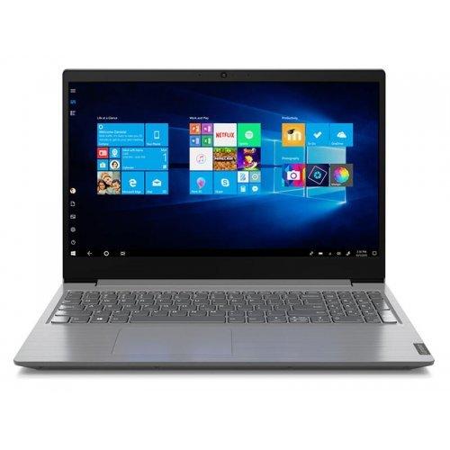 "Лаптоп Lenovo V15, сив, 15.6"" (39.62см.) 1920x1080 (Full HD) без отблясъци, Процесор AMD Ryzen 3 3250U (2x/4x), Видео интегрирано, 8GB DDR4 RAM, 256GB SSD диск, DVDRW, FreeDOS ОС, Клавиатура- с БДС (снимка 1)"