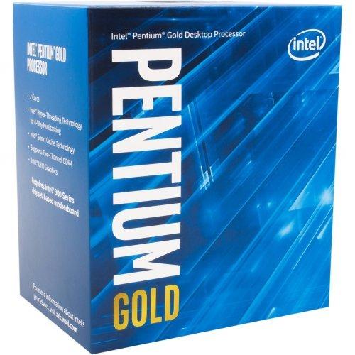 Процесор Intel Pentium Gold G6400 (4.0GHz, 4MB, LGA1200) box (снимка 1)