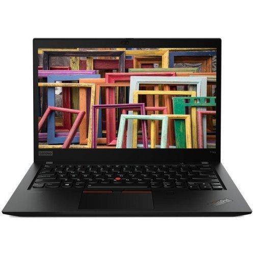 """Ултрабук Lenovo Ultrabook ThinkPad T4s, черен, 14.0"""" (35.56см.) 1920x1080 (Full HD) без отблясъци IPS, Процесор Intel Core i5-10210U (4x/8x), Видео Intel UHD, 8GB DDR4 RAM, 512GB SSD диск, без опт. у-во, Windows 10 Pro 64 ОС, Клавиатура- с БДС (снимка 1)"""