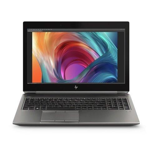 """Лаптоп HP ZBоoк 15 G6, черен, 15.6"""" (39.62см.) 1920x1080 (Full HD) без отблясъци IPS, Процесор Intel Core i7-9750H (6x/12x), Видео nVidia Quadro T2000  Max-Q design/ 4GB GDDR6, 16GB DDR4 RAM, 1TB HDD диск, без опт. у-во, Windows 10 Pro 64 ОС (снимка 1)"""