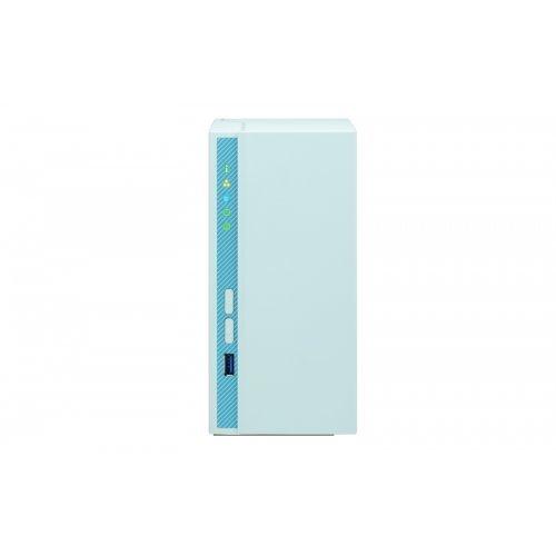 "NAS устройство QNAP TS-230 EU NAS, 2 BAY 2.5""/ 3.5"", USB 3.0/ USB 2.0/ GBIT; RAID 0,1 (снимка 1)"