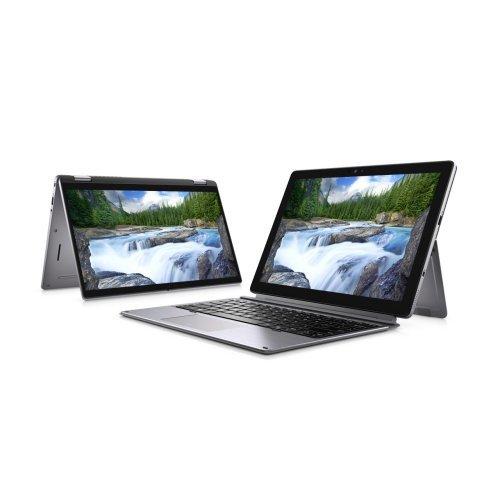 """Лаптоп Dell Latitude 12 7210, сребрист, 12.3"""" (31.24см.) 1920x1280 без отблясъци 60Hz тъч, Процесор Intel Core i5-10210U (4x/8x), Видео Intel UHD 620, 8GB LPDDR3 RAM, 256GB SSD диск, без опт. у-во, Windows 10 Pro 64 English ОС (снимка 1)"""