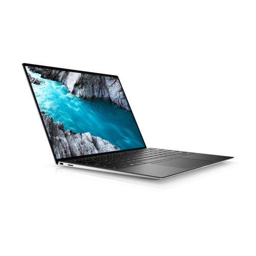 """Лаптоп Dell XPS 13 9300, сребрист, 13.4"""" (34.04см.) 1920x1200 (WUXGA) без отблясъци 60Hz, Процесор Intel Core i7-1065G7 (4x/8x), Видео Intel Iris Plus Gen 11, 16GB LPDDR4X RAM, 512GB SSD диск, без опт. у-во, Windows 10 Pro 64 English ОС, Клавиатура- светеща (снимка 1)"""