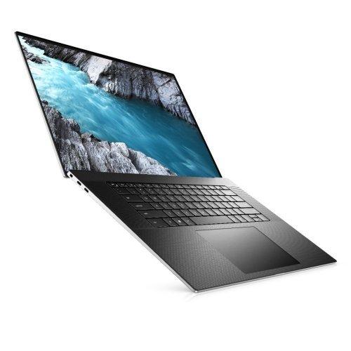 "Лаптоп Dell XPS 17 9700, сребрист, 17.0"" (43.18см.) 3840x2400 (UHD+) без отблясъци 60Hz тъч, Процесор Intel Core i7-10750H (6x/12x), Видео nVidia GeForce GTX 1650 Ti/ 4GB GDDR6, 32GB DDR4 RAM, 2TB SSD диск, без опт. у-во, Windows 10 Pro 64 English ОС, Клавиатура- светеща (снимка 1)"