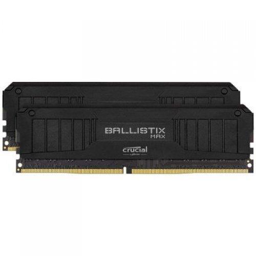 RAM памет DDR4 32GB Kit 2x16GB 2666MT/s, Crucial Ballistix, CL16, Unbuffered, DIMM, 288pin, Black (снимка 1)