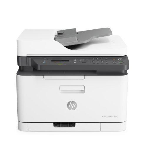 Принтер HP Color Laser MFP 179fnw Printer (снимка 1)