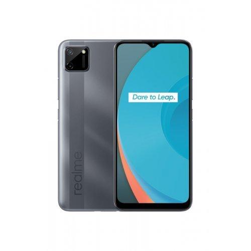 Смартфон Realme C11 RMX2185 3/32GB, Dual SIM, сив (снимка 1)