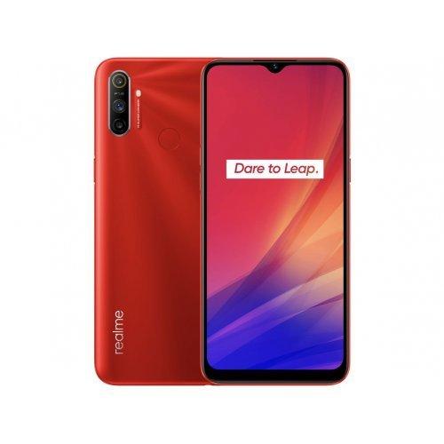 Смартфон Realme C3 2020 3/64GB, Dual SIM, червен (снимка 1)