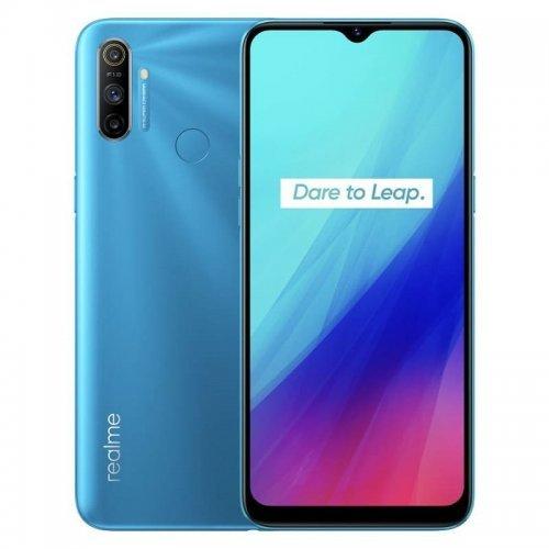 Смартфон Realme C3 2020 3/64GB, Dual SIM, син (снимка 1)