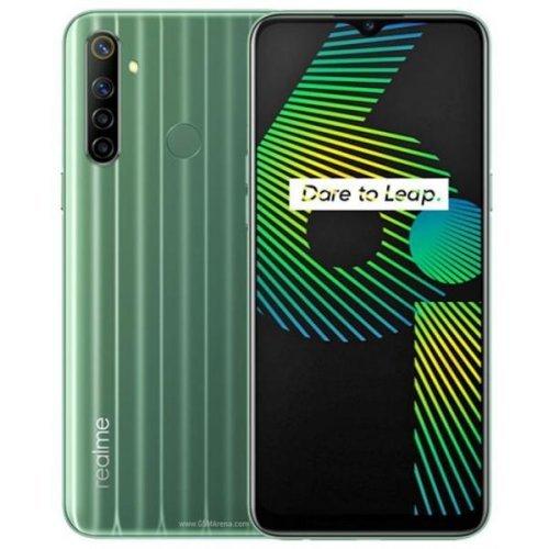 Смартфон Realme 6I 2040 4/128GB, Dual SIM, зелен (снимка 1)