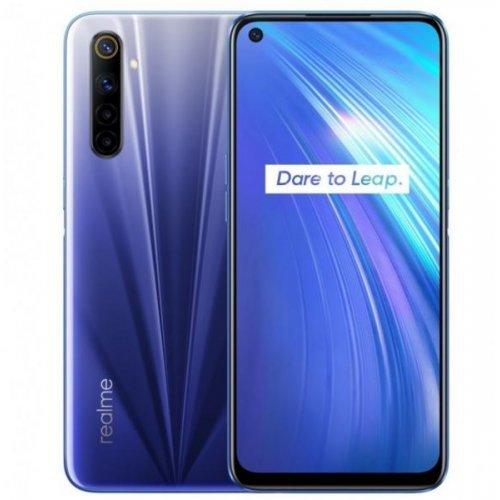 Смартфон Realme 6 2001 4/64GB, Dual SIM, син (снимка 1)