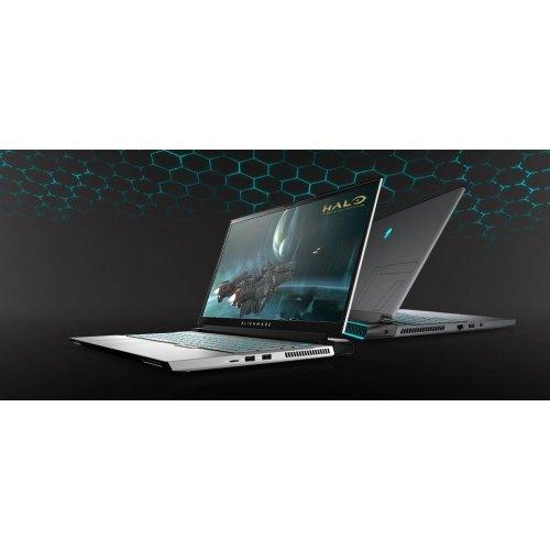 "Лаптоп Dell Alienware m17 R3, сив, 17.3"" (43.94см.) 1920x1080 (Full HD) без отблясъци 300Hz, Процесор Intel Core i7-10750H (6x/12x), Видео nVidia GeForce RTX 2070/ 8GB GDDR6, 16GB DDR4 RAM, 1TB SSD диск, без опт. у-во, Windows 10 64 English ОС, Клавиатура- светеща (снимка 1)"