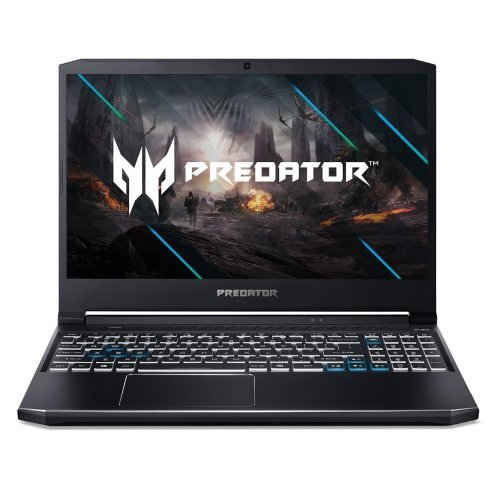 "Лаптоп Acer Predator Helios 300 PH315-53-79FV, черен, 15.6"" (39.62см.) 1920x1080 (Full HD) без отблясъци 144Hz IPS, Процесор Intel Core i7-10750H (6x/12x), Видео nVidia GeForce GTX 1650 Ti/ 4GB GDDR6, 8GB DDR4 RAM, 512GB SSD диск, без опт. у-во, Windows 10 ОС, Клавиатура- светеща с БДС (снимка 1)"