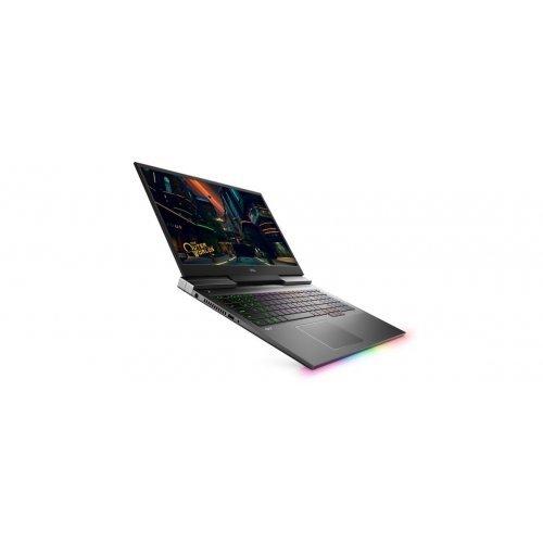 "Лаптоп Dell G7 17 7700, черен, 17.3"" (43.94см.) 1920x1080 (Full HD) без отблясъци 144Hz WVA, Процесор Intel Core i7-10750H (6x/12x), Видео nVidia GeForce RTX 2060/ 6GB GDDR6, 16GB DDR4 RAM, 512GB SSD диск, без опт. у-во, Windows 10 Pro 64 ОС, Клавиатура- светеща (снимка 1)"