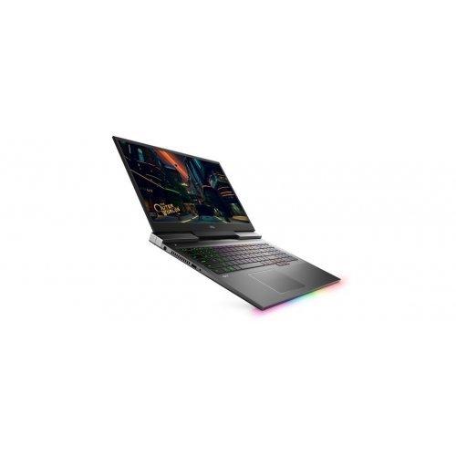 Лаптоп Dell G7 7700, Intel Core i7-10750H (12MB Cache, up to 5.0 GHz, 6 cores), 17.3 inch FHD (1920x1080) 300 nits 144Hz 9ms, HD Cam, 16GB DDR4-2933MHz, 2x8G, 1TB M.2 PCIe NVMe SSD, NVIDIA GTX 1660 Ti 6GB GDDR6, 802.11ax, BT, Backlit Kbd, FPR, MS Win 10, Black (снимка 1)