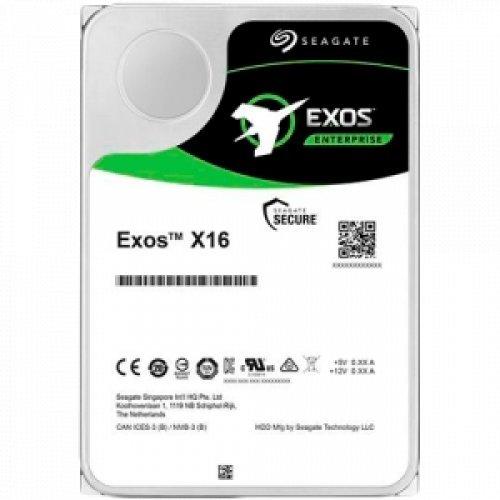 Твърд диск SEAGATE HDD Server Exos X16 512E ( 3.5'/ 12TB/ SATA 6Gb/s / 7200rpm) (снимка 1)